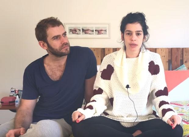 Emanuel Araújo e Maria Flor (Foto: Reprodução)