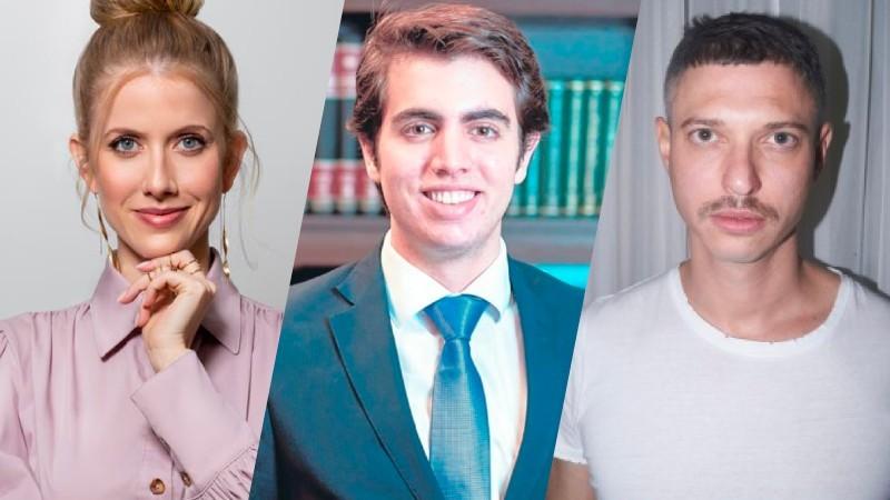 Gabriela Prioli, Jorge Grimberg e Mateus Costa fazem masterclasses abertas ao público