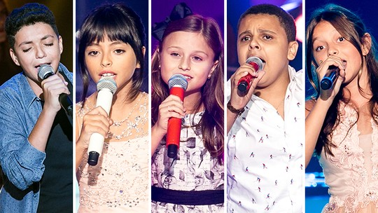 'The Voice Kids': reveja os vídeos mais vistos da fase de Shows ao Vivo