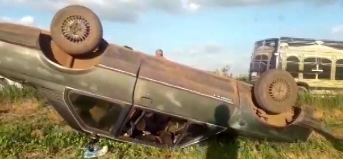 Motorista que foi preso por embriaguez após capotagem com um morto é encaminhado ao CDP - Radio Evangelho Gospel