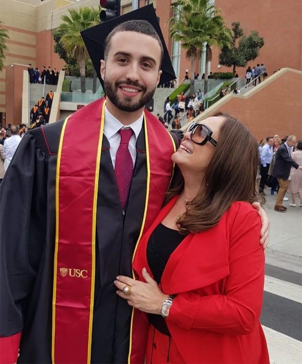Susana Vieira e o neto Rafael Cardoso (Foto: Reprodução/Instagram)