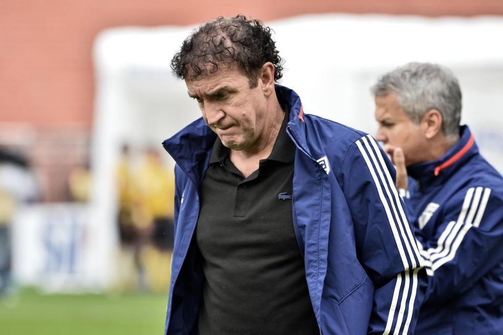 Cuca é o técnico do São Paulo desde abril — Foto: Marcos Ribolli
