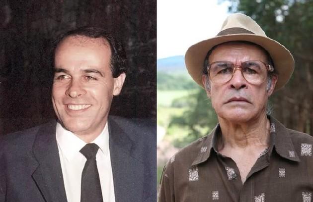 Osmar Prado foi Tabaco, o motorista de Renato. Atualmente, o ator está se preparando para viver o Velho do Rio no remake de 'Pantanal' (Foto: Reprodução)