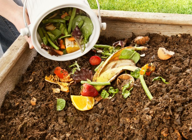 O processo de compostagem deve levar de um a dois meses (Foto: HomeOGarden/ Reprodução)