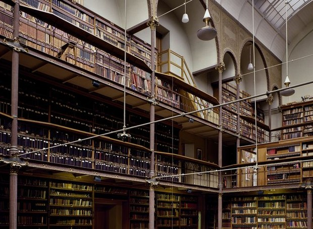 Rijksmuseum, Biblioteca de Pesquisa, em Amsterdam, Holanda (Foto: Massimo Listri/ Taschen/ Reprodução)