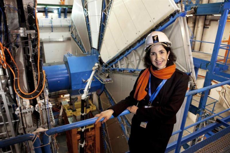 FAbiola, em instalações do CERN (Foto: cern - divulgação)