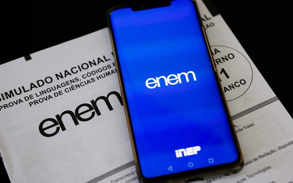 Enem 2020 terá versão digital, que será aplicada em computadores. — Foto: André Melo Andrade/Myphoto Press/Estadão Conteúdo