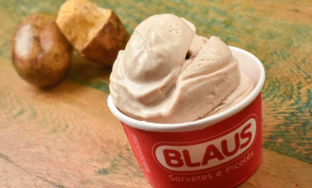 O sorvete Blaus de uxi
