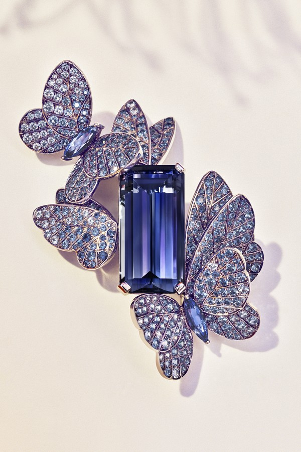 As clássicas borboletas da Tiffany aparecem na linha Summer do Blue Book 2018 (Foto: Divulgação)