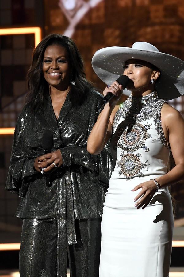 Michelle Obama e J Lo (Foto: Getty Images)