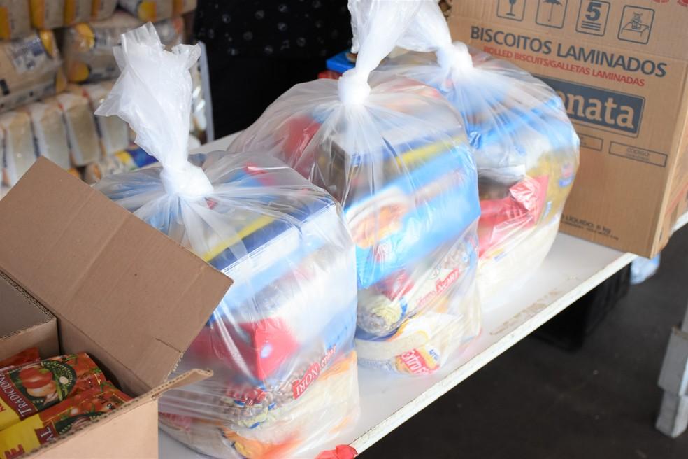 Entrega do kit de alimentos Merenda em Casa começa nesta quarta-feira (24) em Agudos — Foto: Roberto Netto/Prefeitura de Agudos