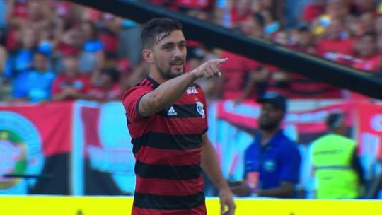 Maior contratação do Flamengo, Arrascaeta tenta superar falha e abatimento em 1ª grande chance