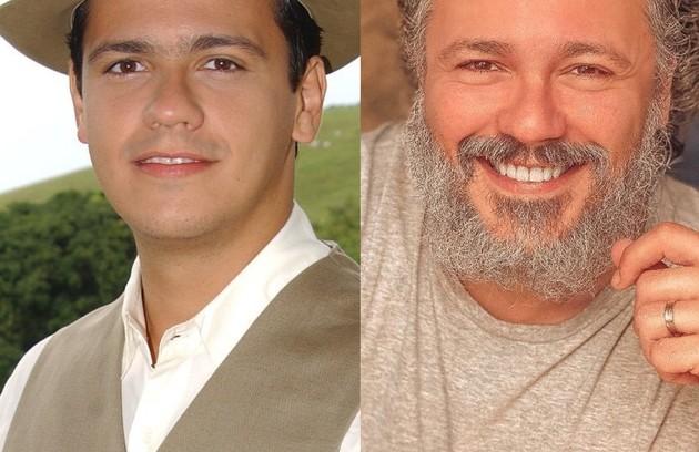 """Danton Mello interpretou Neco, rapaz que se apaixona pela filha do grande rival da sua família. O ator está no elenco da novela das 21h  """"Um lugar ao Sol"""" (Foto: TV Globo - Reprodução)"""