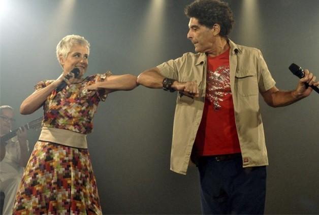 Soraya Ravenle e Marcos Sacramento  (Foto: Cristina Granato)