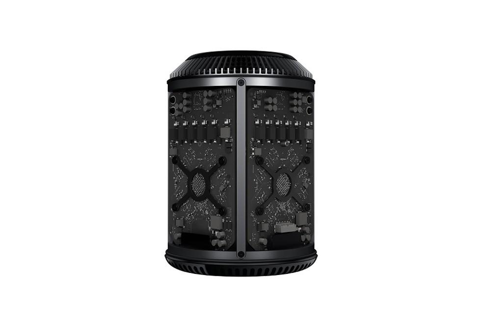 """Mac Pro """"lixeira"""" ganharia revisão com design ainda mais modular — Foto: Divulgação/Apple"""