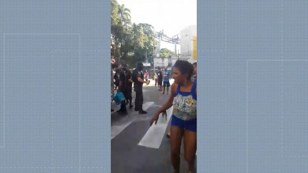 Correria na Providência — Foto: Reprodução/TV Globo