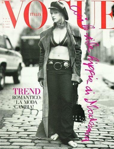 Vogue Italia November 1992, by Steven Meisel (Foto: Reprodução )