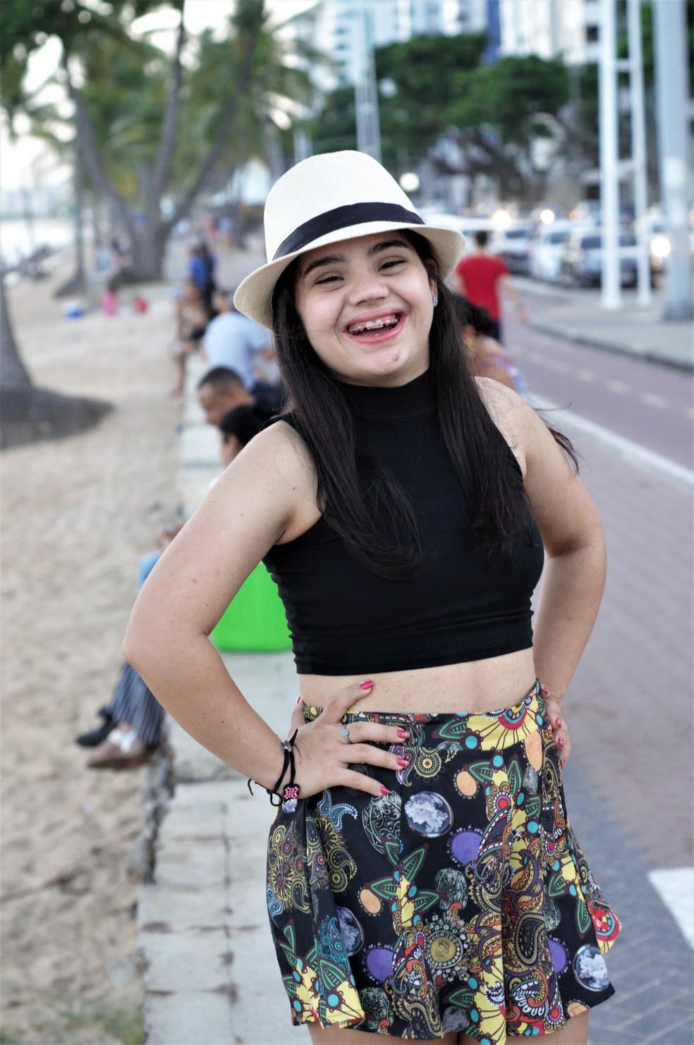 Jovem com Síndrome de Down posou como modelo para as fotos de Nicholas Filinkoski — Foto: Nicholas Filinkoski/Divulgação