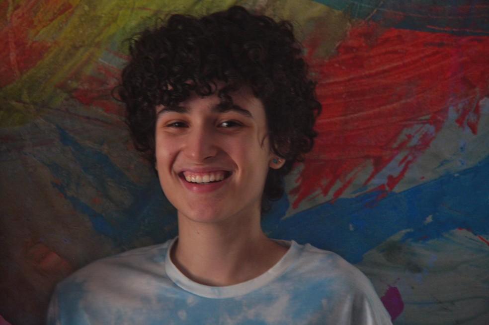 Suanny ganhou uma bolsa de estudos em um colégio privado de São Paulo — Foto: Arquivo pessoal