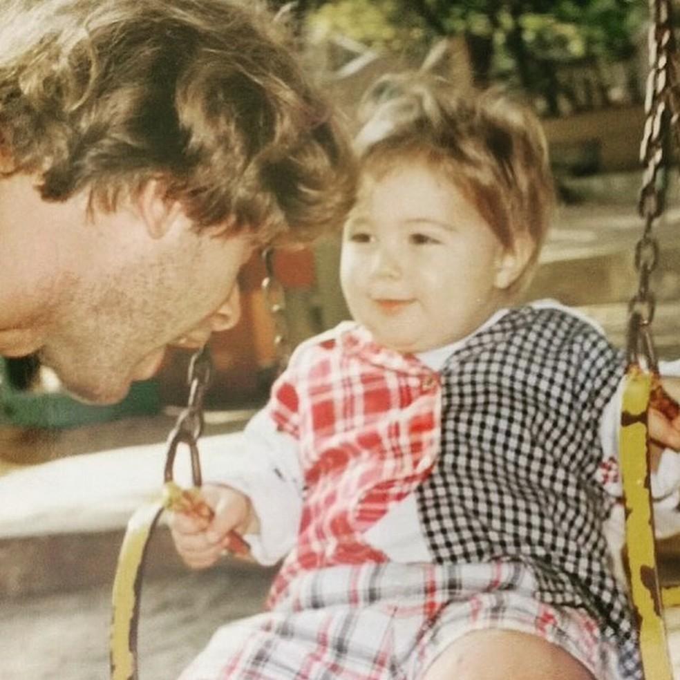 João Vitti celebra aniversário do filho, Rafa Vitti — Foto: Reprodução/Instagram