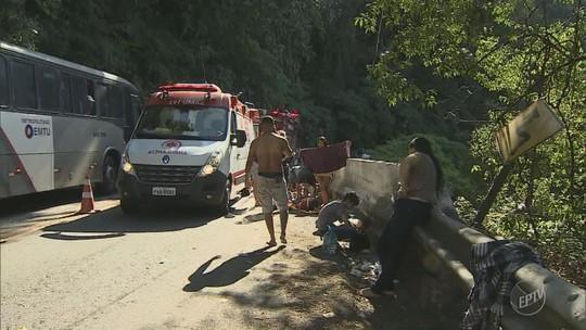 Homem que perdeu mãe e irmã em queda de ônibus em Ubatuba viu o acidente