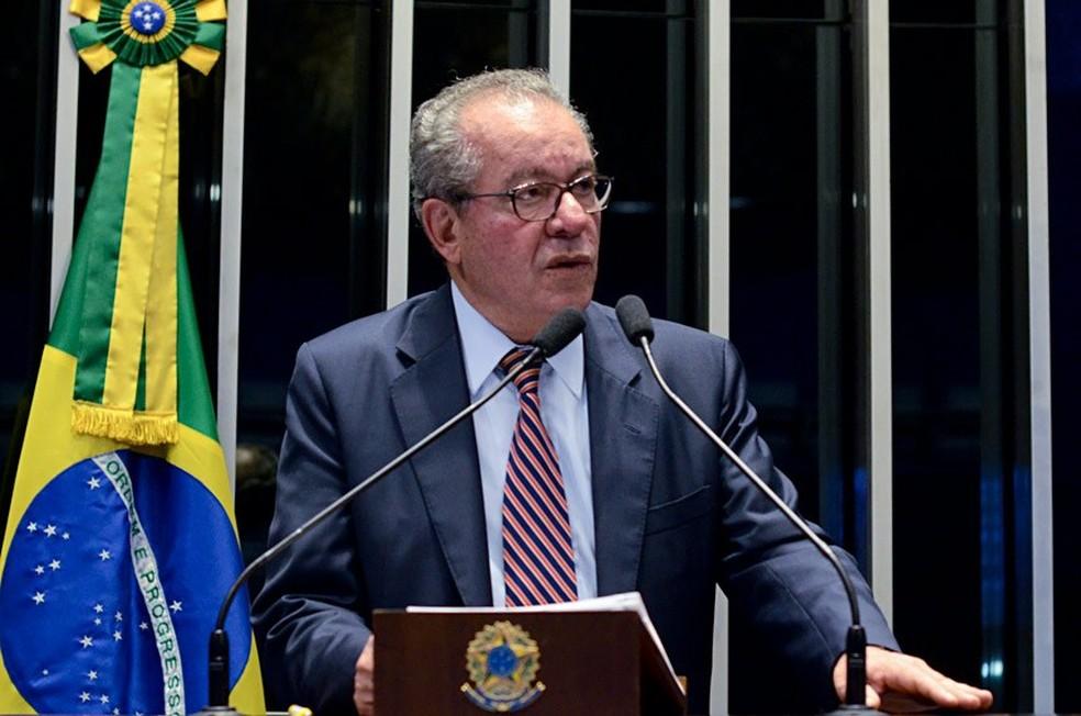 O tucano José Aníbal, suplente do senador José Serra no Senado Federal.  — Foto: Ana Volpe/Agência Senado