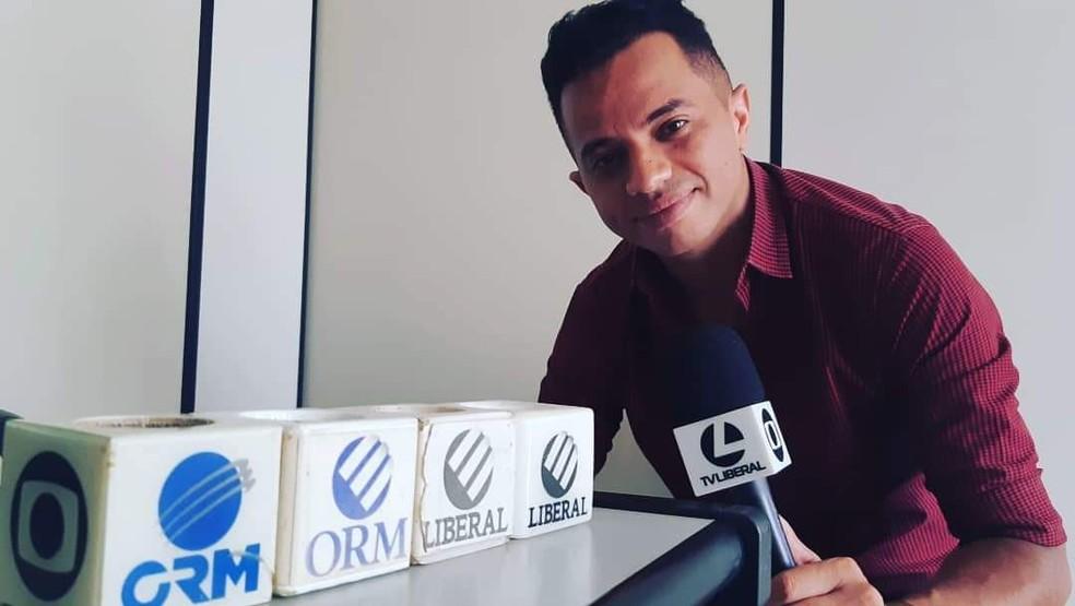 Morre jornalista José Neves da TV Liberal de Parauapebas — Foto: Arquivo Pessoal