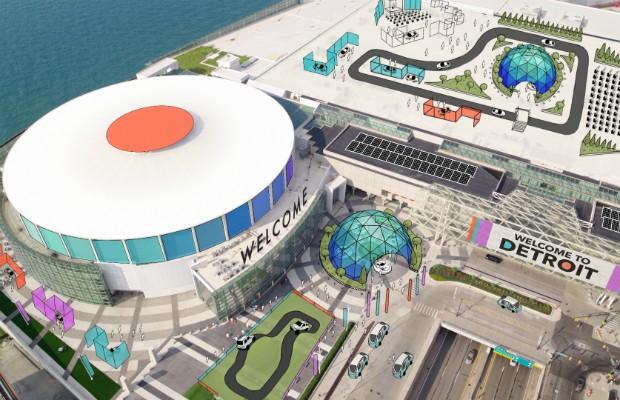 Salão de Detroit acontecerá no mês de junho a partir de 2020 e trará atividades ao ar livre (Foto: Divulgação)