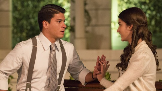 Osório e Gerusa começam a namorar