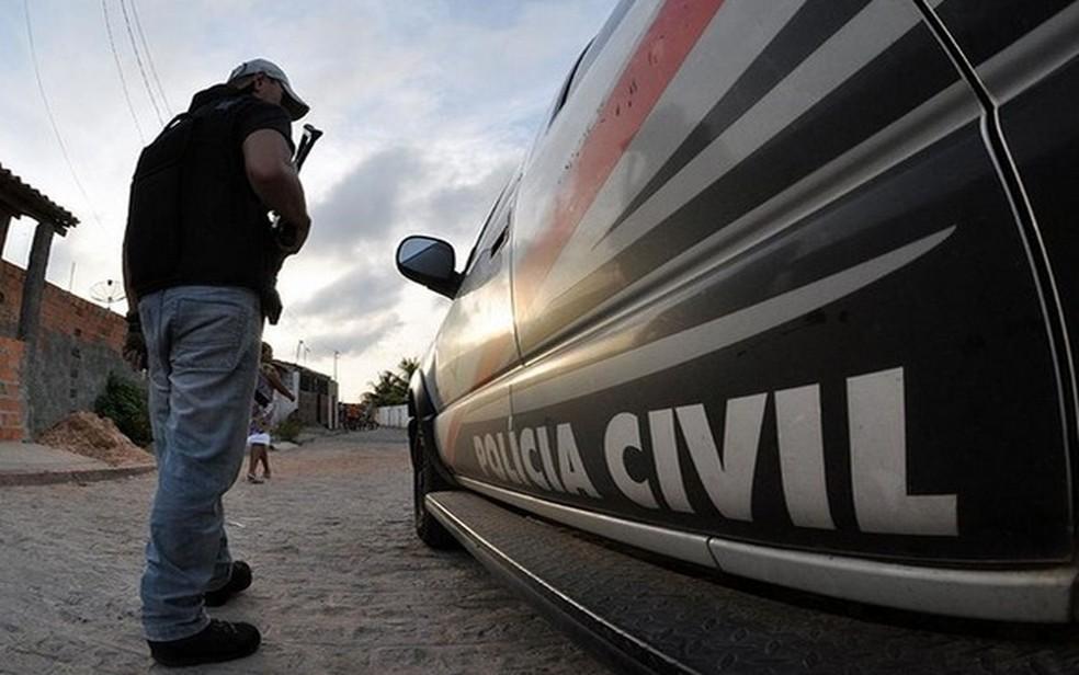 Imagem ilustrativa da Polícia Civil — Foto: SSP