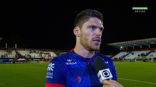 Após derrota de virada, Kozlinski diz que Atlético-GO pagou caro por erros defensivos na etapa final