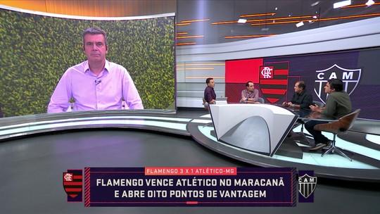 Comentaristas analisam vitória do Flamengo sobre o Atlético-MG e os números de Jorge Jesus