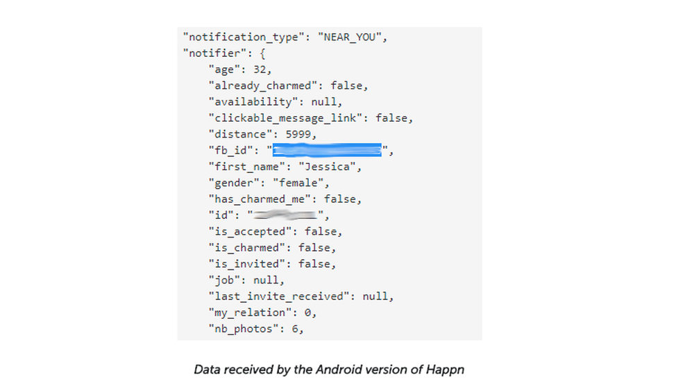 Grupo exemplifica falha de segurança com dados pessoais no Happn para Android (Foto: Reprodução/Felipe Vinha)