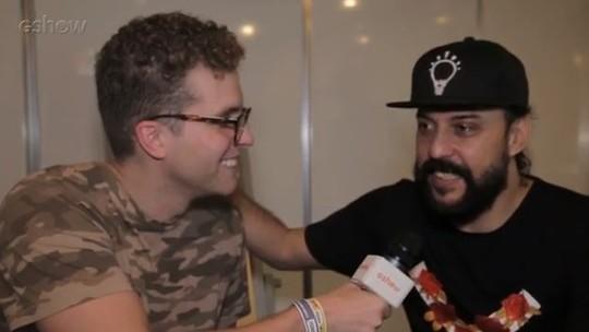 Gabriel, O Pensador sobre line-up do LollaBR: 'Bastante banda nacional. A música não tem fronteiras'