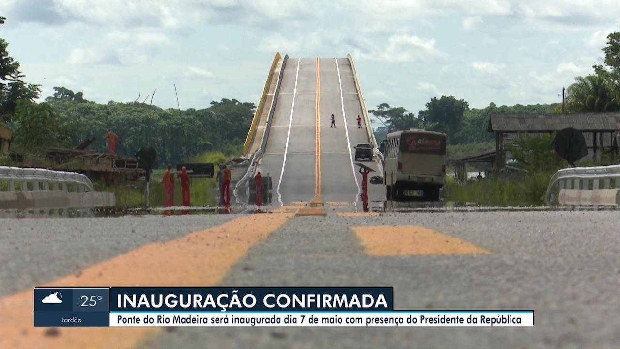 VÍDEOS: Inauguração da ponte entre Rondônia e Acre