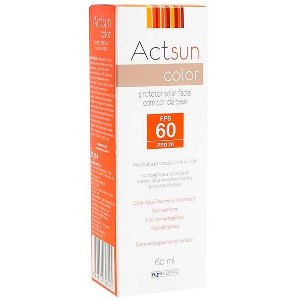 Actsun Color Protetor Solar Facial, FQM Derma (Foto: Divulgação)