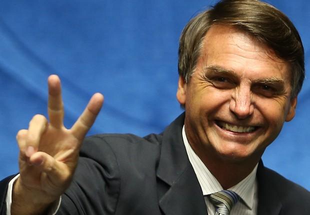 O deputado federal Jair Bolsonaro (PSC) (Foto: Marcelo Camargo/Agência Brasil)