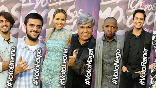 Nego do Borel imita Sidney Magal, e Sophia Abrahão rebola muito nos bastidores do 'Dança dos Famosos'