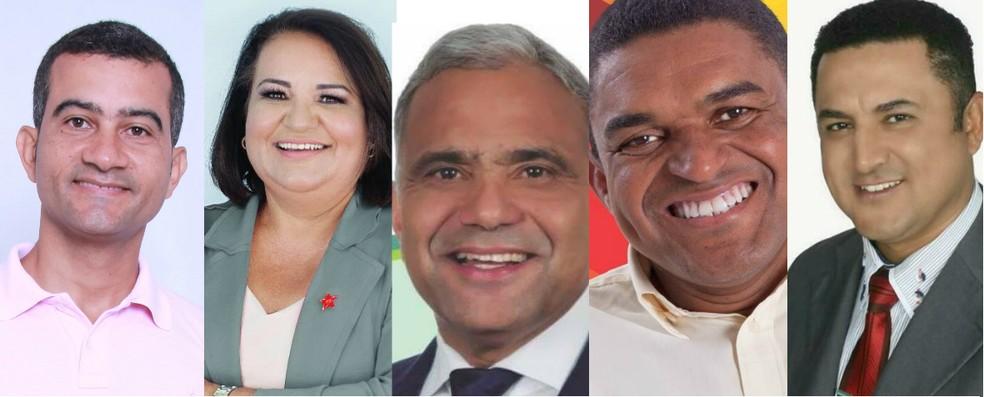 6b08e19089 ... Cinco candidatos disputam eleição em Ipatinga — Foto: Reprodução