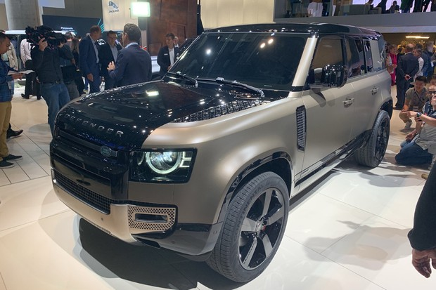 Novo Land Rover Defender (Foto: Raphael Panaro / Autoesporte)