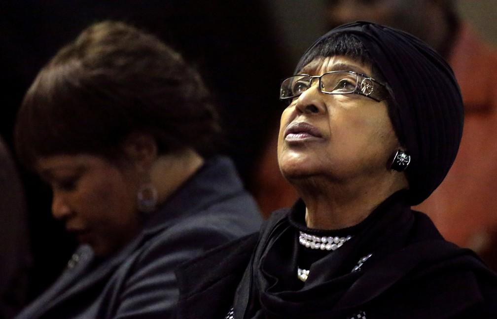 Winnie Madikizela-Mandela, ex-mulher de Nelson Mandela  (Foto: Siphiwe Sibeko/ Reuters)