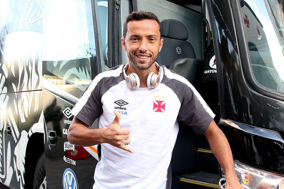 Entre agosto de 2015 e janeiro de 2018, Nenê disputou 132 jogos e marcou 44 gols pelo Vasco — Foto: Paulo Fernandes / Divulgação
