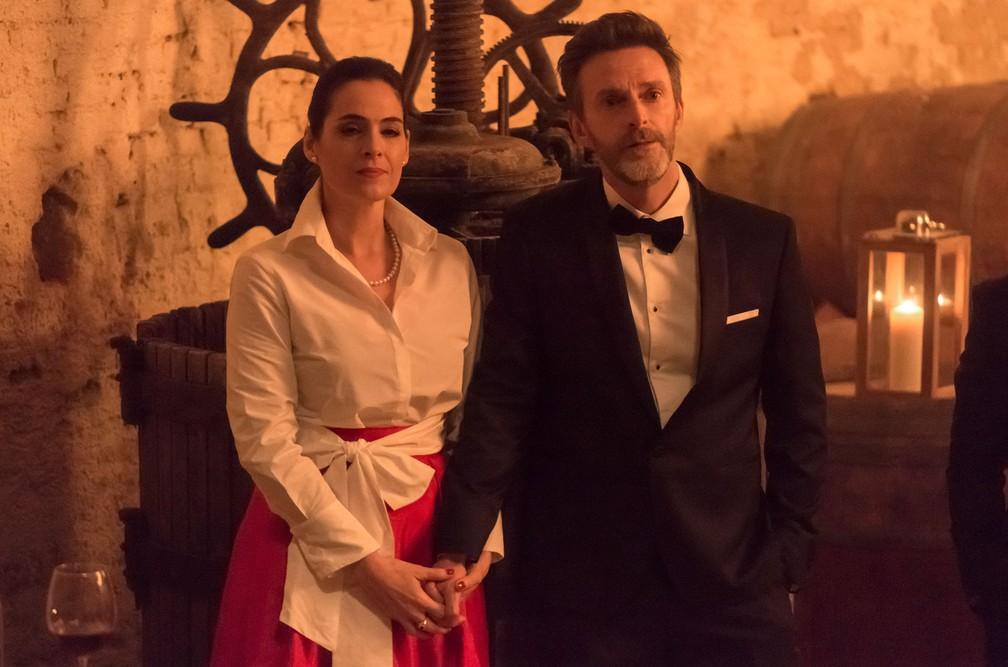 Cena da série espanhola 'Elite', que retrata a alta classe da Espanha — Foto: Manuel Fernandez-Valdes/Netflix