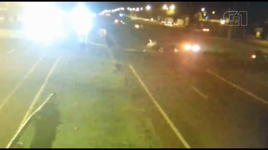 Idosa morre em acidente entre dois carros na BR-277 em Foz do Iguaçu