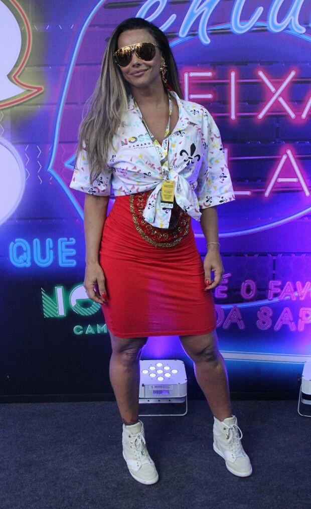 Viviane Araújo (Foto: Wallace Barbosa/AgNews)