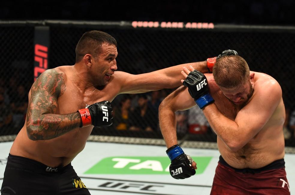 Fabricio Werdum venceu Marcin Tybura por decisão unânime dos juízes no UFC Sydney (Foto: Getty Images)