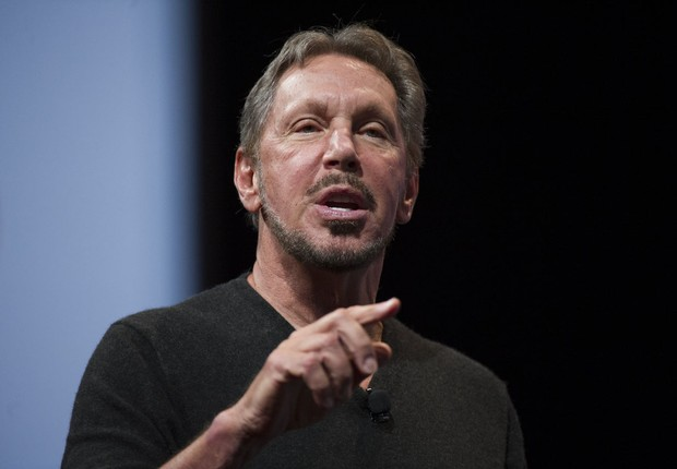 O fundador da Oracle, o bilionário Larry Ellison (Foto: David Paul Morris/Bloomberg via Getty Images)