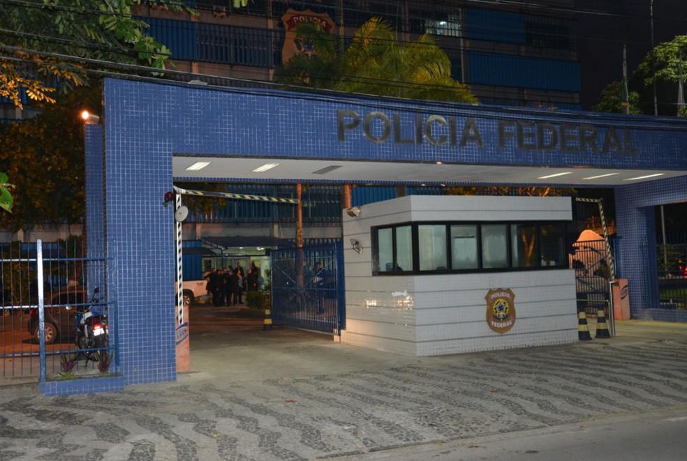Sede da Polícia Federal, no Recife (Foto: Ascom/PF)