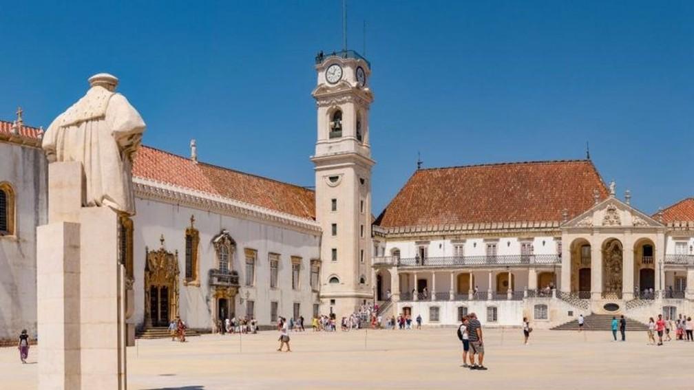 A Universidade de Coimbra foi a primeira entidade estrangeira a assinar o convênio com o Inep, em maio de 2014. — Foto: Getty Images