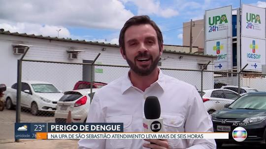 Mau atendimento na UPA de São Sebastião